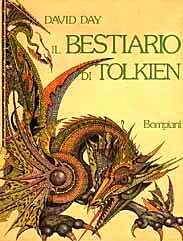 copertina di Il bestiario di Tolkien