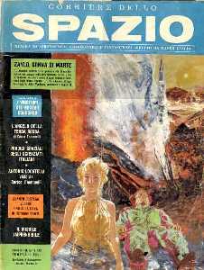 copertina di un volume della collana Corriere dello Spazio