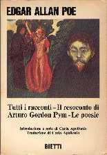 copertina di Tutti i racconti - Il resoconto di Arturo Gordon Pym - Le poesie