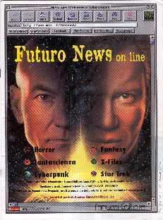 copertina di Futuro News a. XXV, n. 3/4