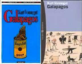 copertina di Galápagos