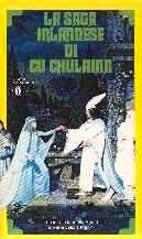 copertina di La saga irlandese di Cu Chulainn