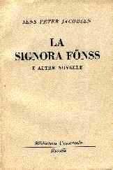 copertina di La signora Fönss e altre novelle