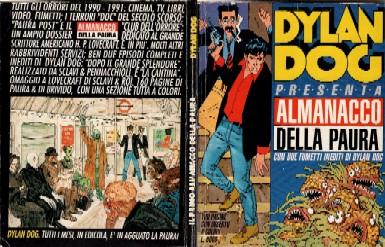 copertina di un volume della collana Almanacco della Paura
