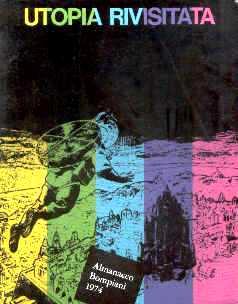 copertina di un volume della collana Almanacco Letterario Bompiani