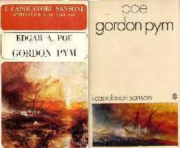 copertina di Gordon Pym [e racconti]