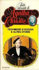 copertina di un volume della collana Tutti i Racconti di Agatha Christie
