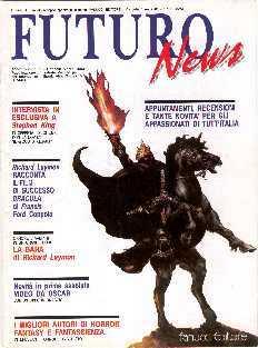 copertina di Futuro News a. XXII, n.1