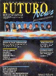 copertina di Futuro News a. XXIV, n. 1