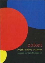 copertina di Colori profili ombre sospetti