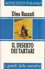 copertina di Il deserto dei tartari