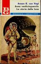 copertina di Anno venticinquemila Le storie delle Lune