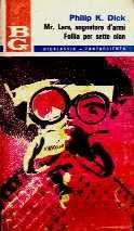 copertina di Mr. Lars, sognatore d'armi Follia per sette clan
