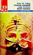copertina di Anonima intangibili Storie marziane