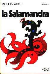 copertina di La salamandra