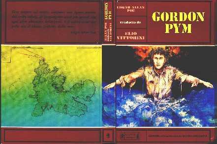 copertina di Gordon Pym