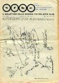 copertina di Il Bollettino dello Science Fiction Book Club a. V, n. 21