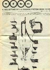 copertina di Il Bollettino dello Science Fiction Book Club a. V, n. 24