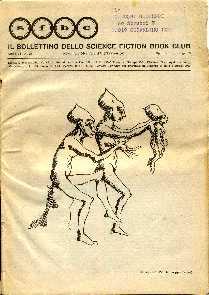 copertina di Il Bollettino dello Science Fiction Book Club a. VI, n. 25