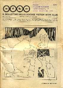 copertina di Il Bollettino dello Science Fiction Book Club a. VII, n. 26
