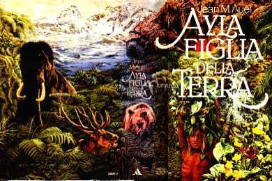 copertina di Ayla figlia della Terra