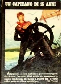 copertina di Un capitano di 15 anni