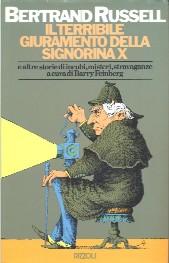 copertina di Il terribile giuramento della signorina X e altre storie di incubi, misteri, stravaganze