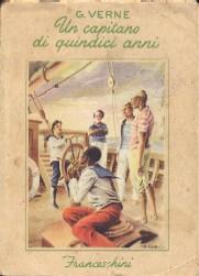 copertina di Un capitano di quindici anni