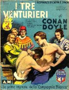 copertina di un volume della collana I Romanzi di Cappa e Spada