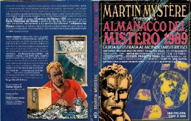 copertina di un volume della collana Almanacco del Mistero
