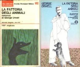 copertina di La fattoria degli animali