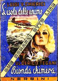 copertina di un volume della collana Due Romanzi Otto Lire