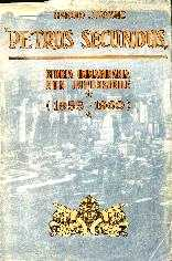 copertina di Petrus Secundus. Storia immaginaria non impossibile (1955 – 1960)