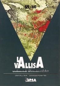 copertina di La Vallisa a. XX, n. 59/60