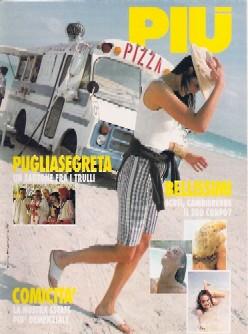 copertina di un volume della collana Più (all. alla Gazzetta del Mezzogiorno)