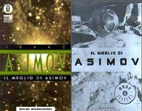 copertina di Il meglio di Asimov