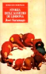 copertina di Storia dell'assedio di Lisbona