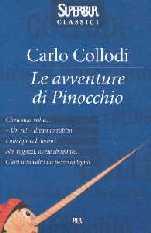 copertina di Le avventure di Pinocchio