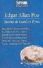 copertina di Storia di Gordon Pym
