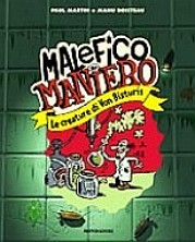 copertina di un volume della collana Malefico Maniero