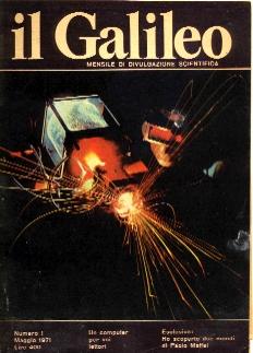 copertina di un volume della collana Il Galileo