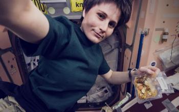 Come ti preparo il pranzo in orbita