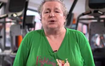 Pat Cadigan, gym hero