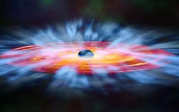Individuato un buco nero super ventoso