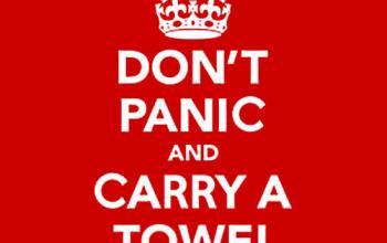 25 maggio, il giorno dell'asciugamano