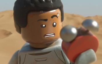 Lego Star Wars Il risveglio della forza, il trailer dedicato a Finn