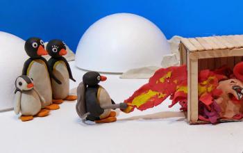 Il pinguino da un altro mondo