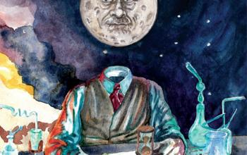 Alla conquista della Luna, la fantascienza di Emilio Salgari da Cliquot edizioni