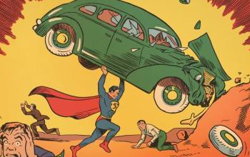 Super Antics, Kerry Callen prende in giro gli eroi DC