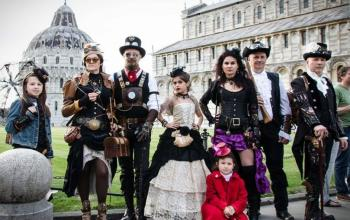 Pisa, Paul Di Filippo alla Steamcon, convention internazionale dello Steampunk